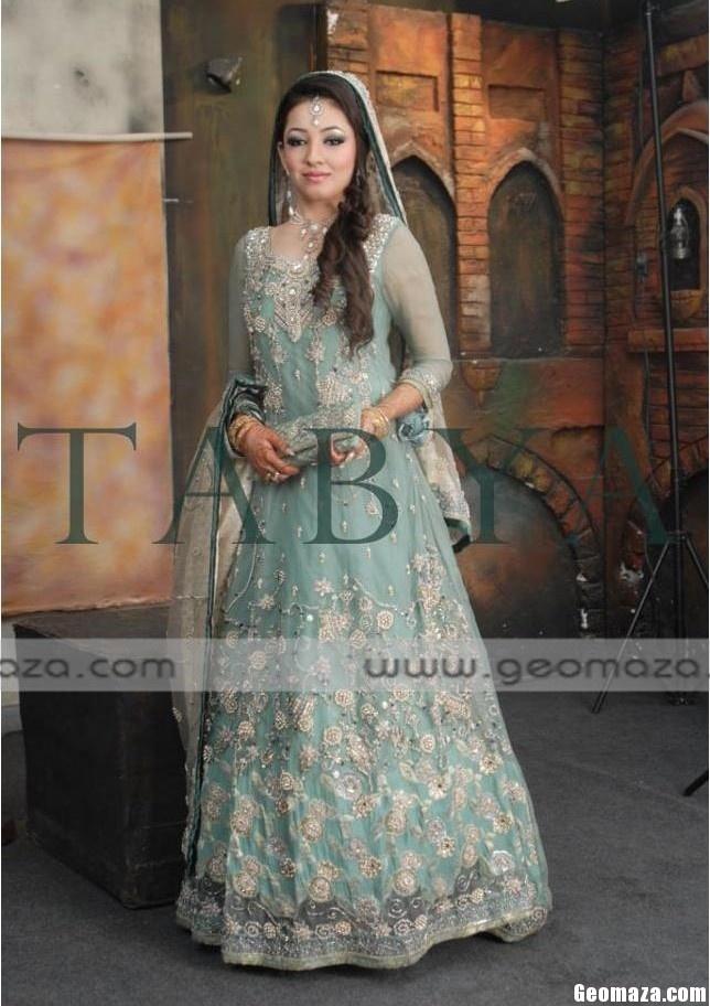 formal wear dresses girls latest walima shaadi bridal dresses 2014