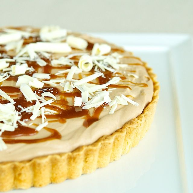 Milky Way Tart slightly adapted from a recipe by Joanne Chang from her ...