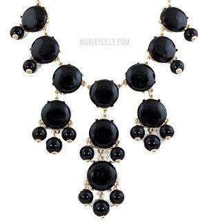 Black Bubble Necklace