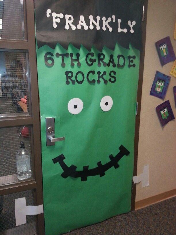 Decorating Ideas > Halloween Door  School Ideas  Pinterest ~ 030234_Halloween Door Decorations For School