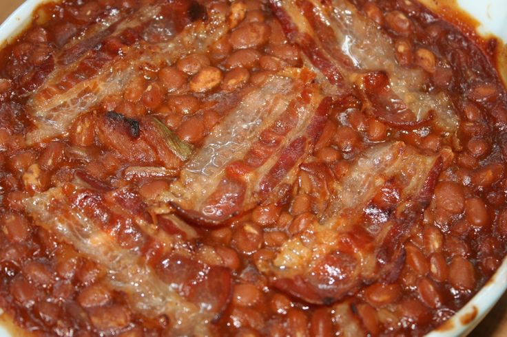 Quick and Easy Baked Beans - | Favorite Recipes | Pinterest