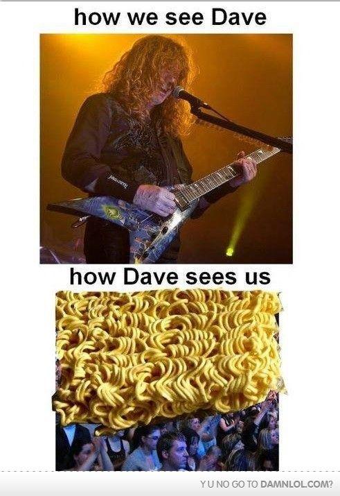 Mustaine 39 s Vision Humor Pinterest