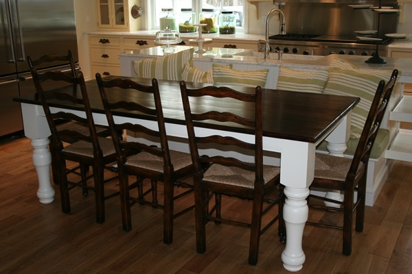 dining table dining table chunky legs. Black Bedroom Furniture Sets. Home Design Ideas