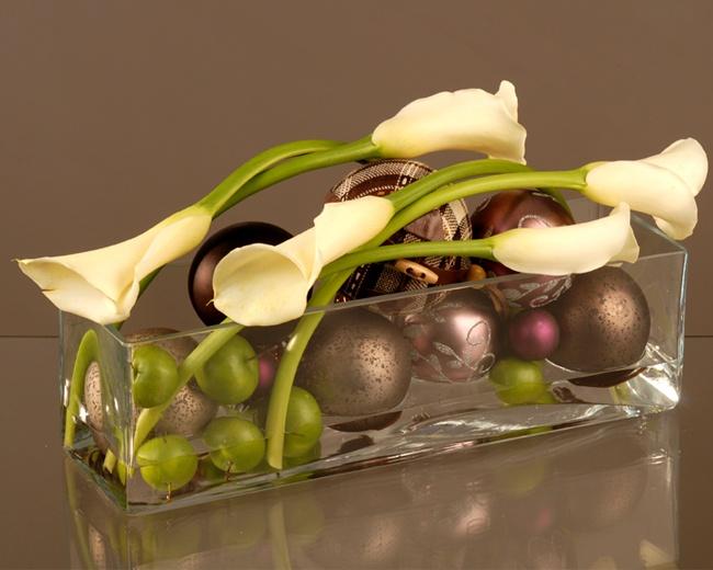 Centre de table pour no l floral art 2 pinterest - Centre de table noel ...