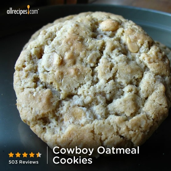 March 18- Oatmeal Cookie Day | Cowboy Oatmeal Cookies