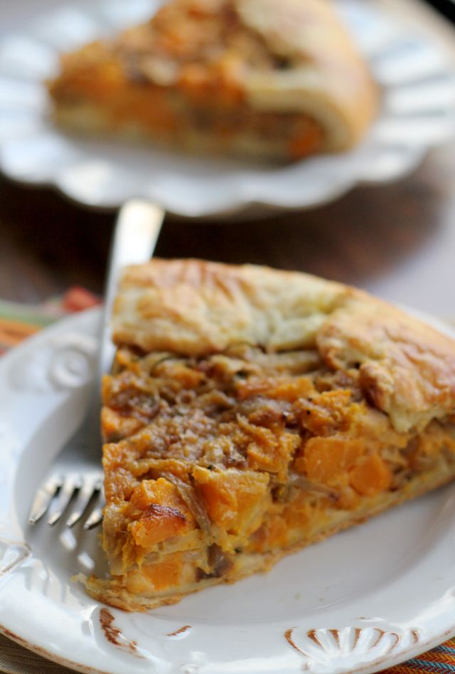 Butternut Squash and Caramelized Onion Galette - Joanne Eats Well With ...