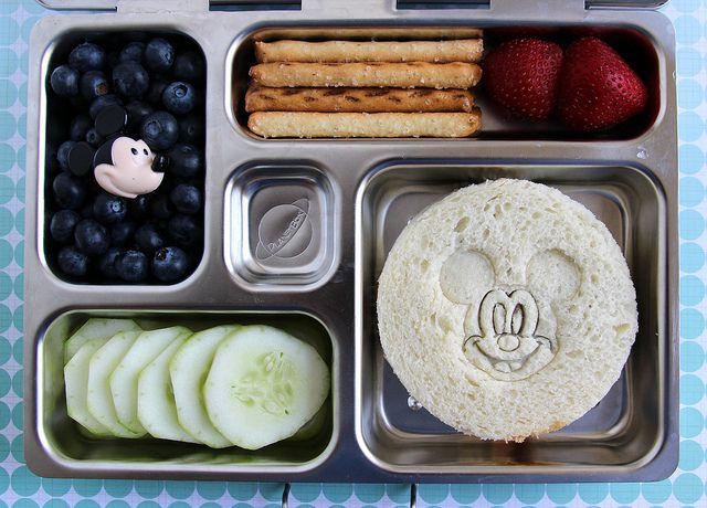 Mickey Mouse Preschool Bento | Food Ideas | Pinterest