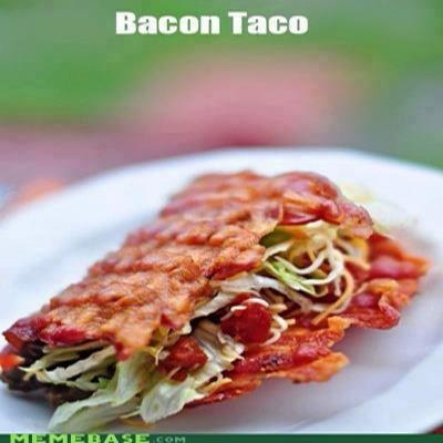 Bacon Tacos!   Eating clean made Yummy!!   Pinterest