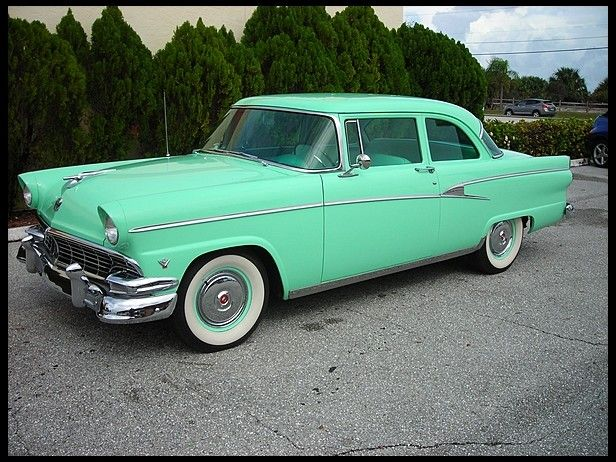 1956 ford customline two door sedan ford pinterest