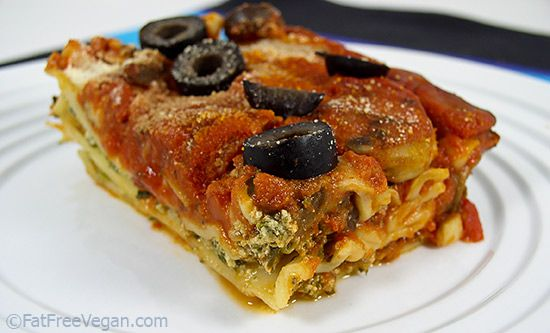 quick and easy, but my Easy Vegan Spinach and Mushroom Lasagna ...