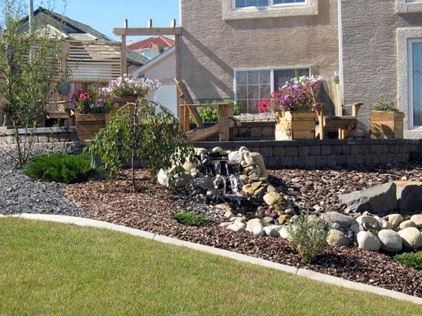 Pin by ann raff on garden pinterest - Rock gravel landscaping ideas ...