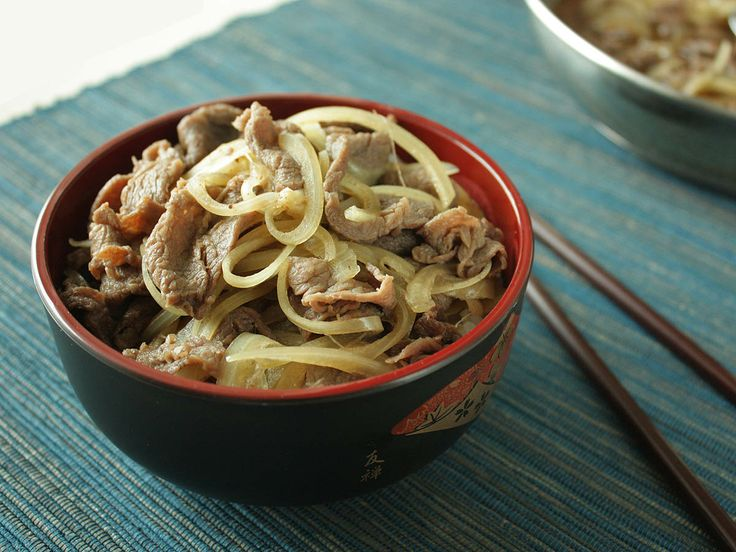 Gyudon – Japanese Beef Bowl | i ♥ japan | Pinterest