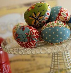 For unique easter egg designs consider this fun project gather