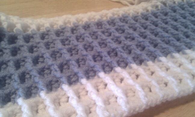 Crochet Waffle Stitch : Waffle Stitch