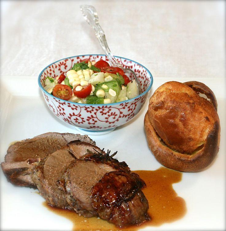 Roasted Leg of Lamb With Garlic | A comeeeeeeeer! | Pinterest