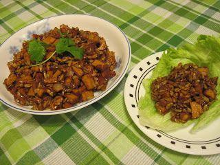 Nenna's Veggie Kitchen: Spicy Flavorful Vegetarian Lettuce Wraps