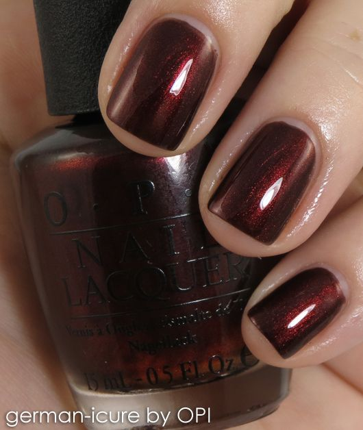 OPI Fall Germany  German-icureOpi German Icure