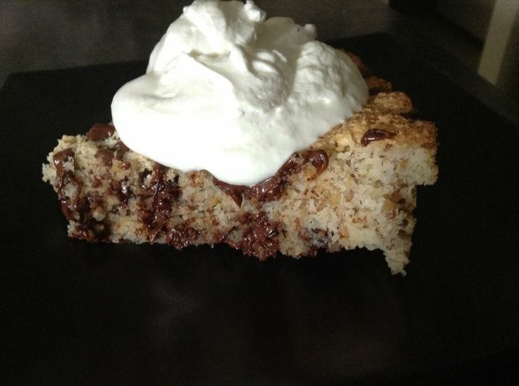Primal Coconut Almond Torte w/ Chocolate Chips | health and Beauty 4Ever