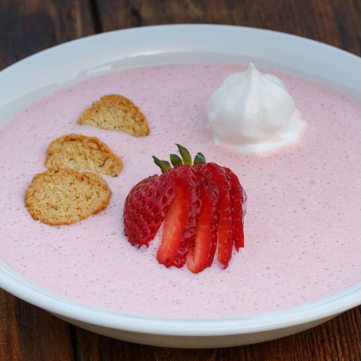 Koldskål - Cold Sweet Buttermilk Soup   Scandinavian Recipes   Pinter ...