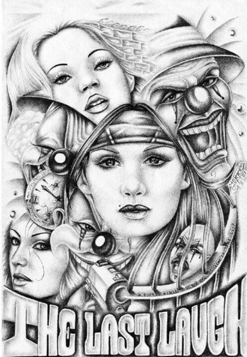 Airbrush Art Chicano T...