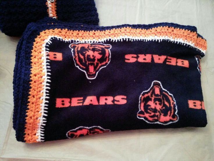 Free Crochet Pattern For Chicago Bears C : Pin by Janet Gontscharow on crochet items I have made ...