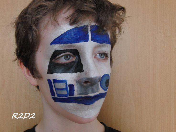 Chewbacca Face Paint Kids