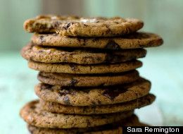 ... cookie is boasted to have a thousand-layers of chocolate, it's