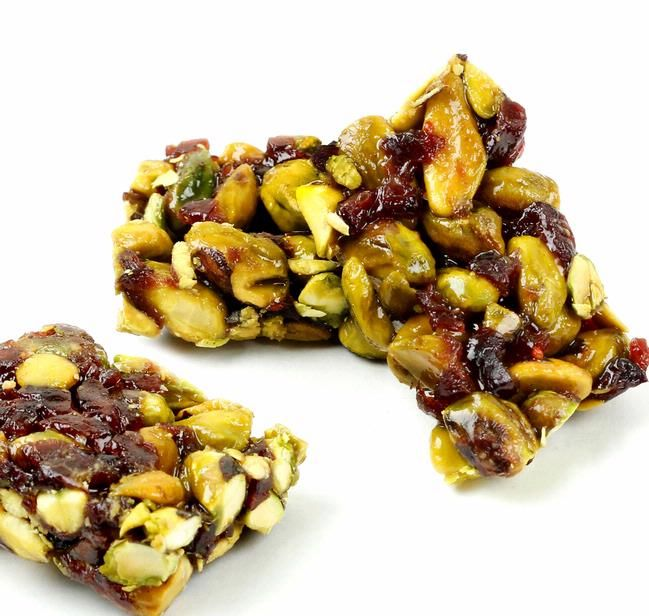 Cranberry and Pistachio Brittle | Food | Pinterest