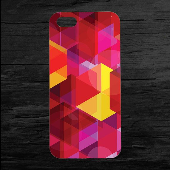 Colorful Abstract Pattern iPhone 4 4s and 5 Case by theminifab, $11.00