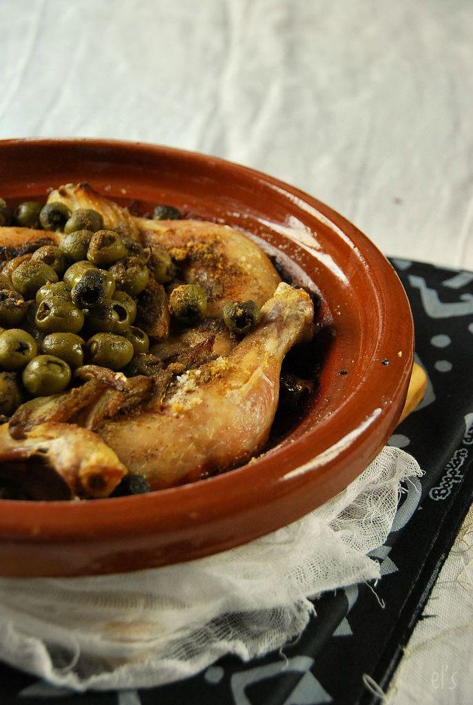 Cuisse de poulet au four l olive recipe - Cuisse de poulet au four ...