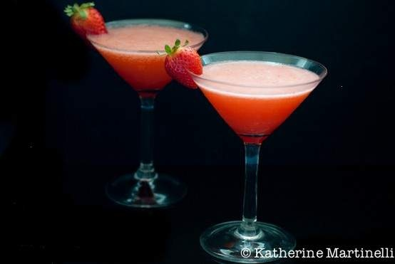 strawberry-rhubarb cocktail | No name | Pinterest
