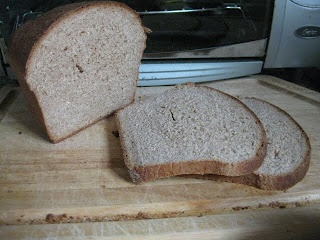 ... : Homemade 100% Whole Wheat Honey Bread (without a bread machine