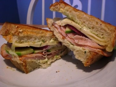 ... apple, Havarti cheese, turkey breast, and a dill mayonnaise. #recipe