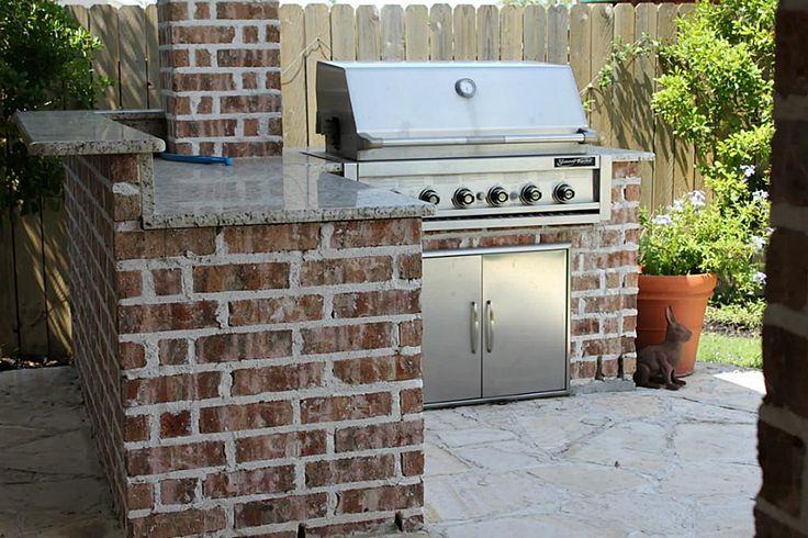 Backyard Built In Grill Ideas : Builtin Outdoor Grill  Backyard ideas  Pinterest