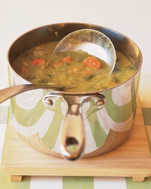 Vegetarian Split-Pea Soup | Recipe