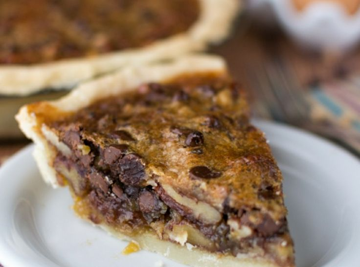 Toffee Chocolate Pecan Pie | Delicious Pies & Cobblers | Pinterest