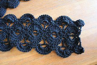 Ravelry: #04 Scallop Crochet Scarf pattern by SweaterBabe