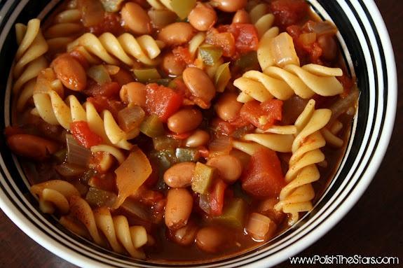 pasta & pinto bean chili | recipes | Pinterest