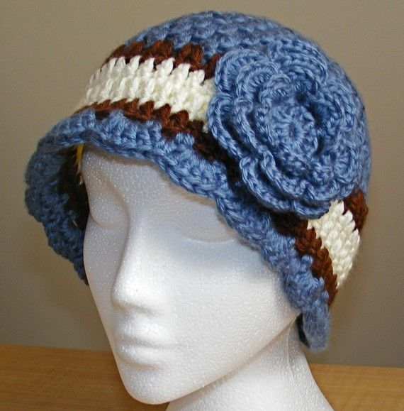 Crochet Hat Patterns Cloche : Cloche hat crochet pattern. Crochet Ideas Pinterest