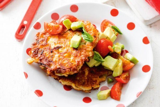 zucchini ham and ricotta fritters zucchini ham and ricotta fritters ...