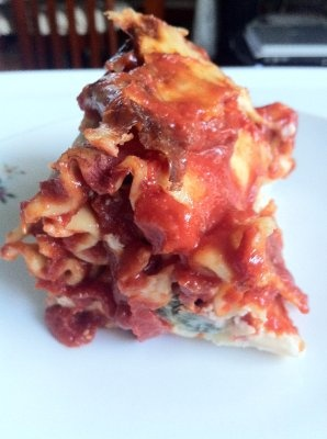 Spinach And Prosciutto Lasagna Recipe — Dishmaps
