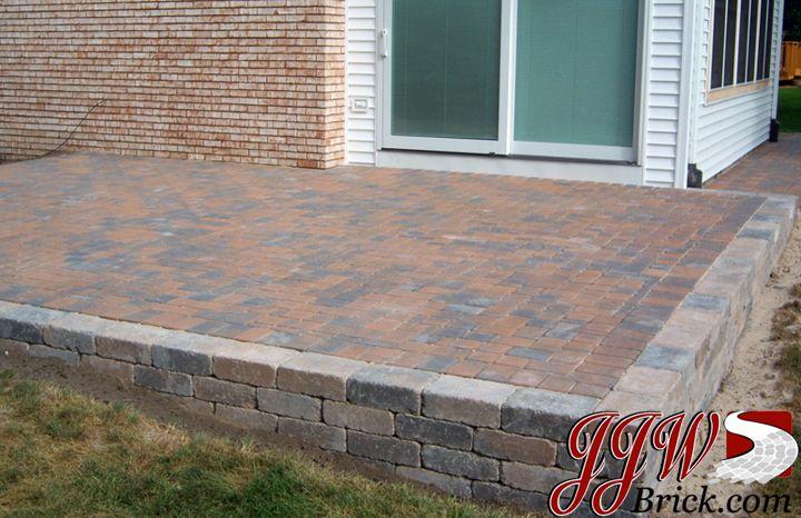 brick paver patio design garden ideas pinterest