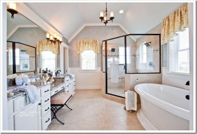 Decorating a dream home part 2 for Dream master bathroom designs