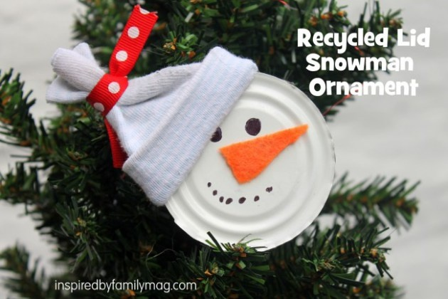 Christmas Ornament Craft Snowman  CraftChristmas home made ornament