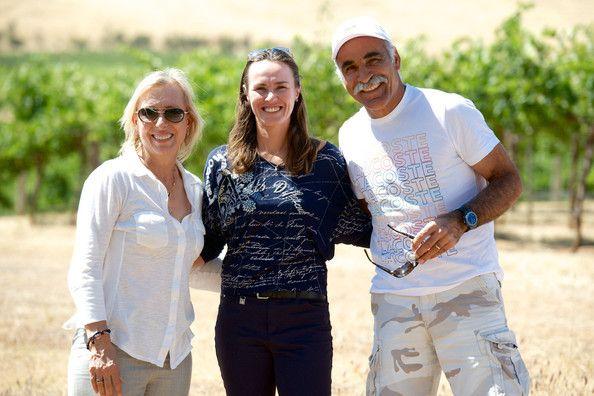 Martina Navratilova Martina Hingis And Mansour Bahrami