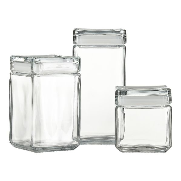 glass kitchen canisters in the kitchen pinterest glass kitchen canister sets foter