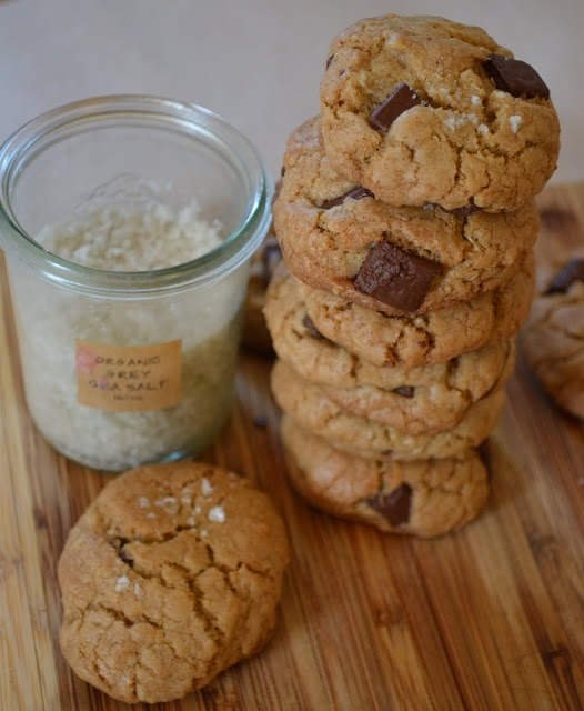Brown Butter Salted Double Chocolate Chunk Cookies Recipes ...