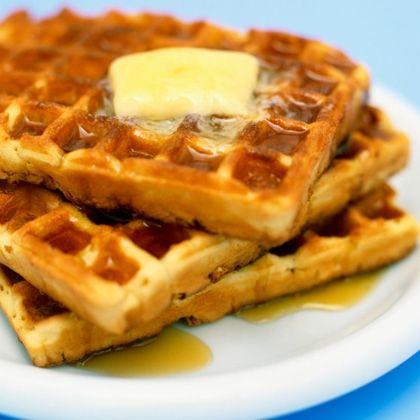 French Toast Waffles Recipe — Dishmaps