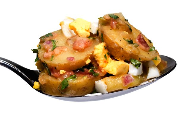Warm German Potato Salad | salads | Pinterest