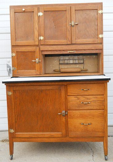 Hoosier Cabinet With Sifter Kitchen Stuff Pinterest